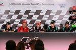 Die Pressekonferenz am Sachsenring