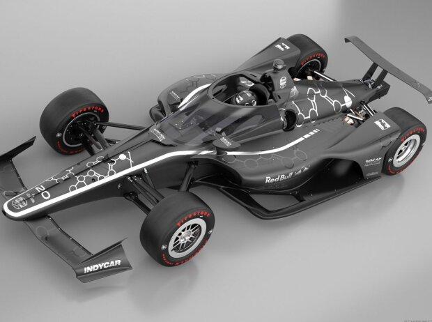 IndyCar-Aeroscreen für 2020