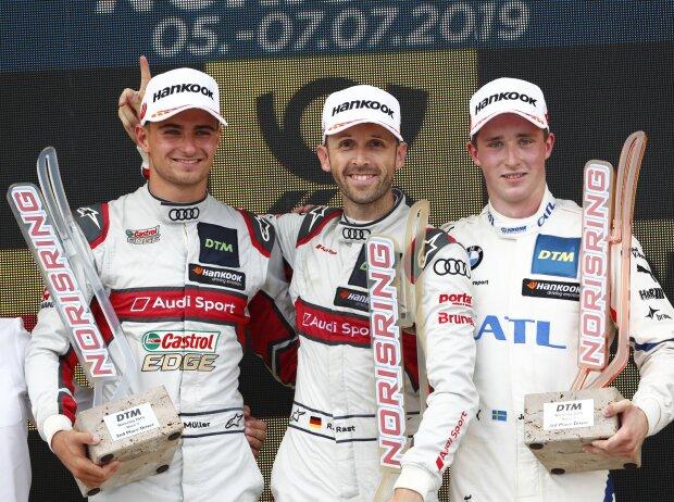 Nico Müller, Rene Rast und Joel Eriksson