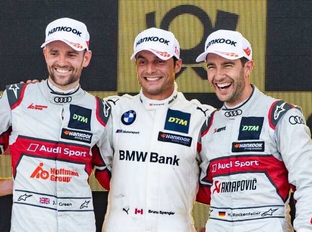 Jamie Green, Bruno Spengler und Mike Rockenfeller