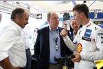 Gerhard Berger und Sheldon van der Linde (RBM-BMW)
