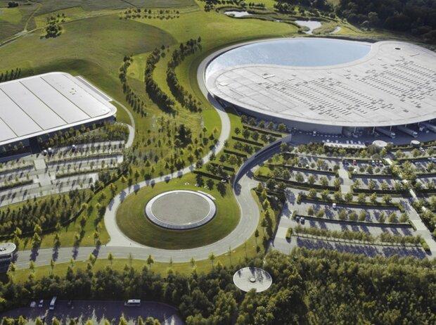 Fabrik McLaren-Technology-Centre in Woking