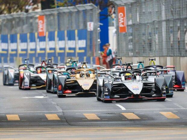 Start zum ePrix Hongkong 2019, dem 50. Rennen der Formel E