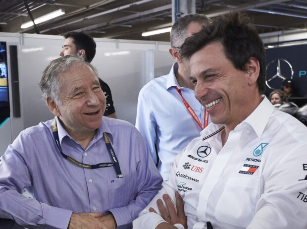 Jean Todt, Toto Wolff