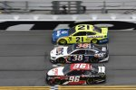 Three-Wide: Paul Menard (Wood), David Ragan (Front Row) und Parker Kligerman (Gaunt)