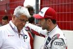 Ernst Moser und Mike Rockenfeller (Phoenix-Audi)