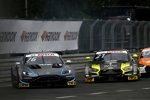 Jake Dennis (R-Motorsport Aston Martin) und Pietro Fittipaldi (WRT )