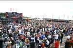Superbike-Fans in Donington