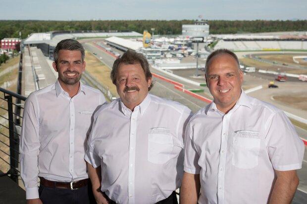 ~Jochen Nerpel, Georg Seiler, Jorn Teske (Hockenheim-Ring GmbH)~