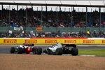 Robert Kubica (Williams) und Lewis Hamilton (Mercedes)