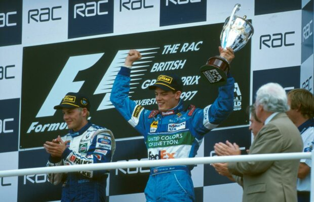 Alexander Wurz Jacques Villeneuve Williams ROKiT Williams Racing F1 ~Alexander Wurz und Jacques Villeneuve ~