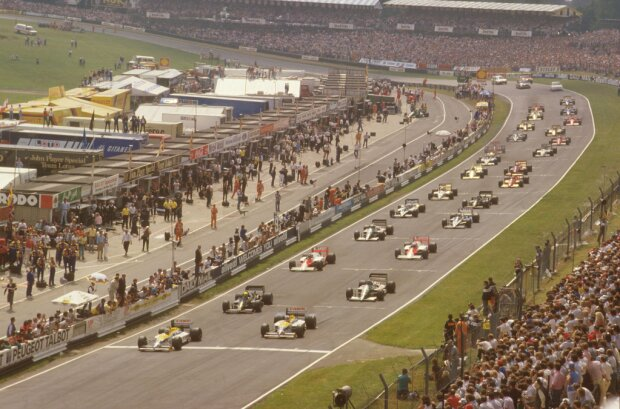 Nigel Mansell Gerhard Berger Williams ROKiT Williams Racing F1Lotus Lotus F1 Team F1 ~Nigel Mansell und Gerhard Berger ~