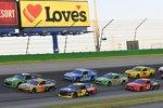 Renn-Action auf dem Kentucky Speedway