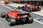Max Verstappen (Red Bull) und Charles Leclerc (Ferrari)