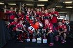 Chaz Davies mit dem Ducati-Team
