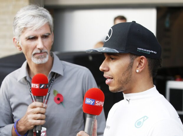 Lewis Hamilton, Damon Hill