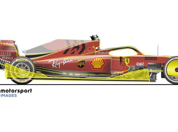 "Illustration by Giorgio Piola: Formula 1 2021 ""title ="" Illustration by Giorgio Piola: Formula 1 2021 ""/>   <p class="