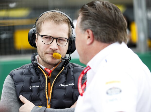 Andreas Seidl, Zak Brown