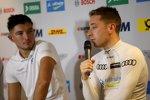 Jake Dennis (R-Motorsport Aston Martin) und Robin Frijns (Abt-Audi)