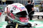 Der Helm von Nico Müller