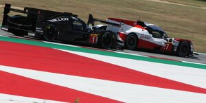 WEC-Prolog 2019 in Barcelona: Rebellion schiebt sich an Toyota heran