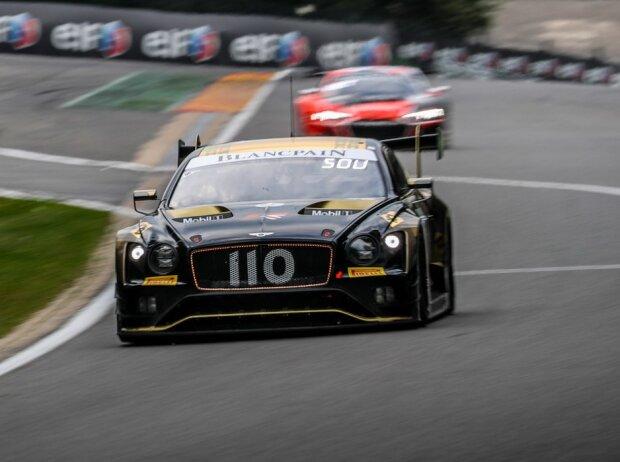 Bentley Schiebt 24h Spa Startplatze Auf Bop