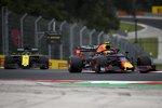 Pierre Gasly (Red Bull) und Daniel Ricciardo (Renault)