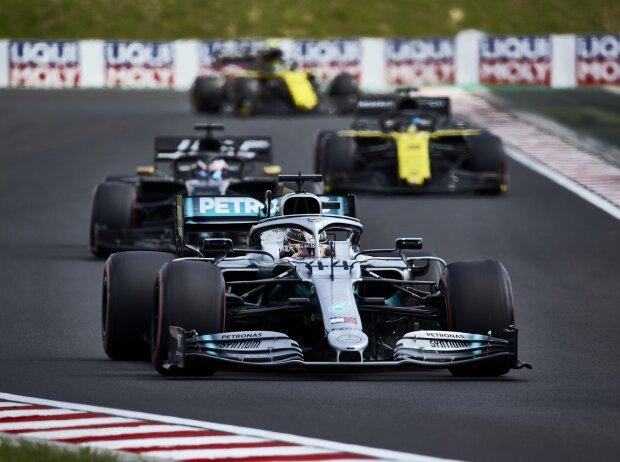 Lewis Hamilton, Romain Grosjean, Daniel Ricciardo