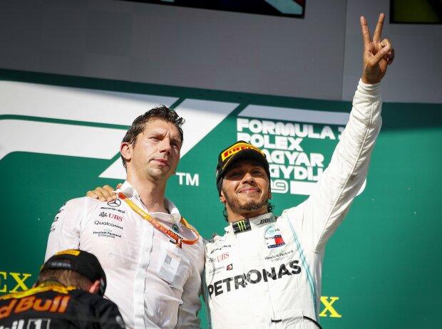 James Vowles und Lewis Hamilton