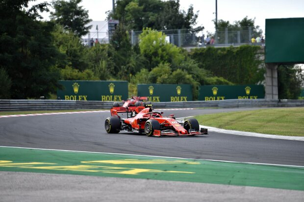 Charles Leclerc Sebastian Vettel Ferrari Scuderia Ferrari Mission Winnow F1 ~Charles Leclerc (Ferrari) und Sebastian Vettel (Ferrari) ~