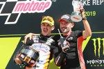 Aron Canet (Max Racing) und Max Biaggi