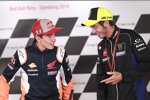 Marc Marquez und Valentino Rossi