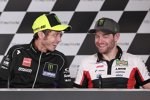 Valentino Rossi und Cal Crutchlow