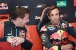 Marcus Eschenbacher und Johann Zarco (KTM)
