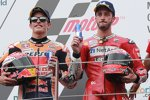 Andrea Dovizioso (Ducati) und Marc Marquez (Honda)