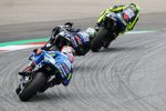 M Valentino Rossi, Maverick Vinales und Alex Rins