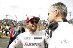 Mike Rockenfeller (Phoenix-Audi) und Dieter Gass