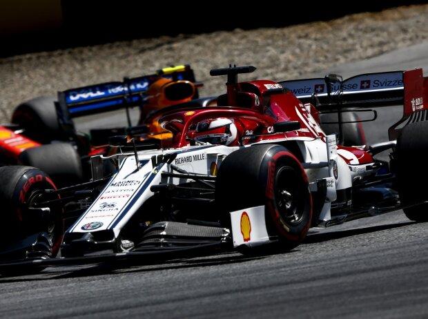 Kimi Räikkönen, Lando Norris
