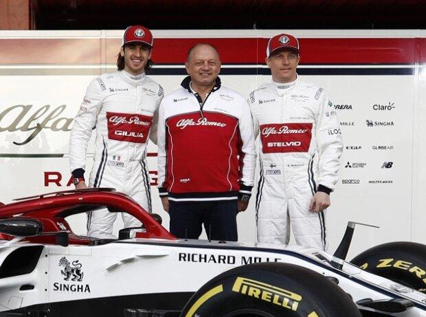Antonio Giovinazzi, Kimi Räikkönen