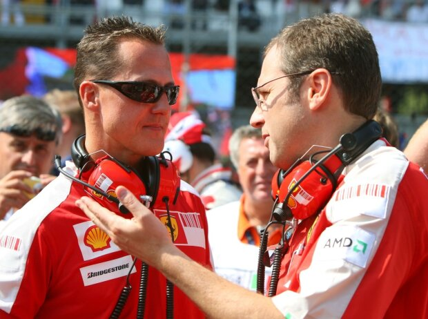 Michael Schumacher, Stefano Domenicali