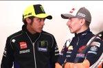 Valentino Rossi und Jorge Lorenzo