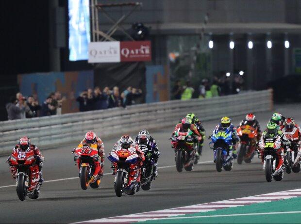 Start zum GP Katar 2019 in Losail