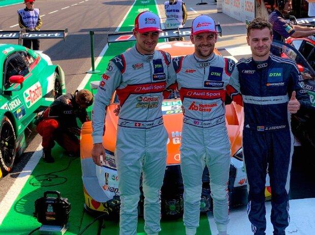 Nico Müller, Jamie Green, Jonathan Aberdein