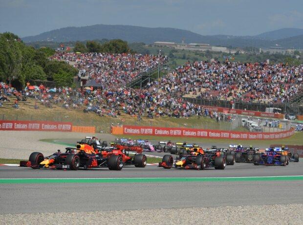 Max Verstappen, Charles Leclerc, Pierre Gasly, Romain Grosjean, Kevin Magnussen