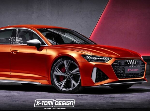 Audi RS 6 (2020) Limousine Rendering