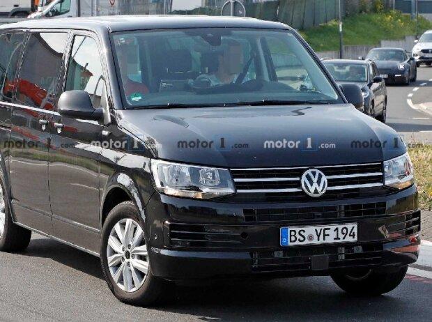 VW Transporter T7 als Versuchsträger