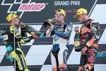 Augusto Fernandez (Pons), Jorge Navarro (Speed Up) und Brad Binder (KTM Ajo)