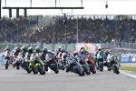 Moto2 Start in Silverstone