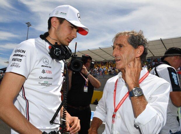 Esteban Ocon, Alain Prost