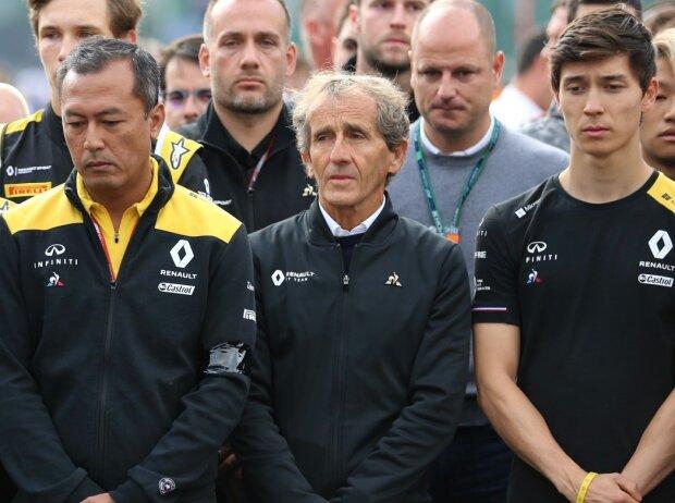 Alain Prost, Jack Aitken, Max Fewtrell, Ye Yifei, Anthoine Hubert